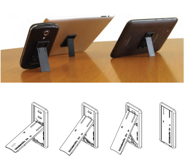 kickstand4u mounted on mobile devices