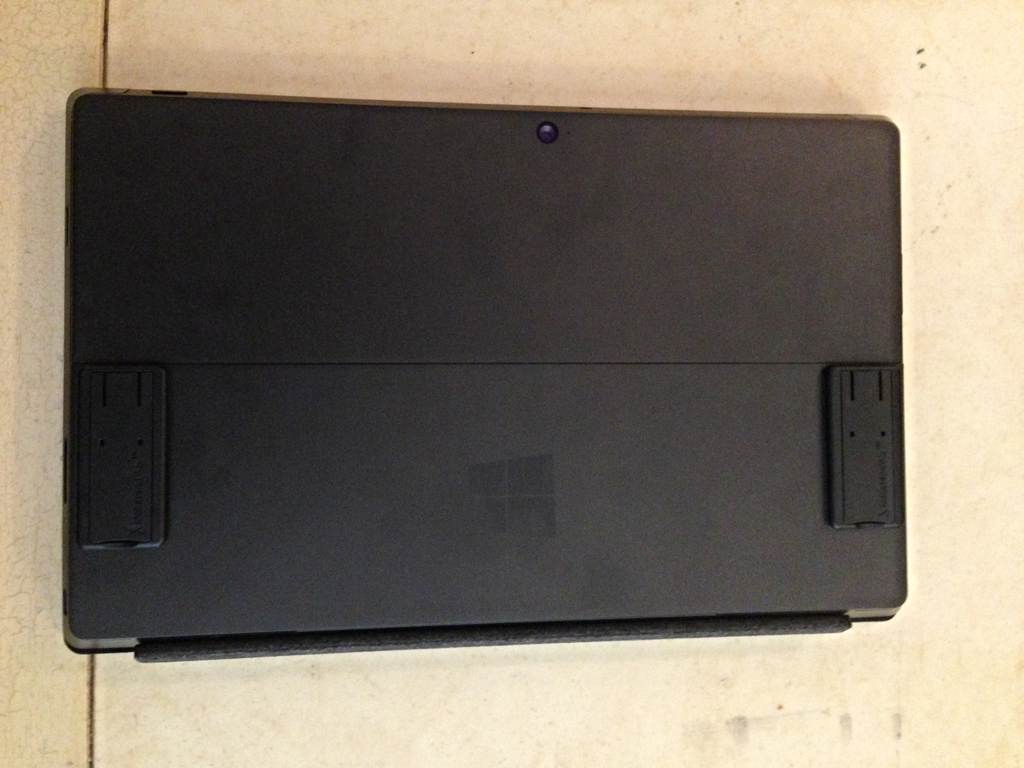 Surface Pro backside view