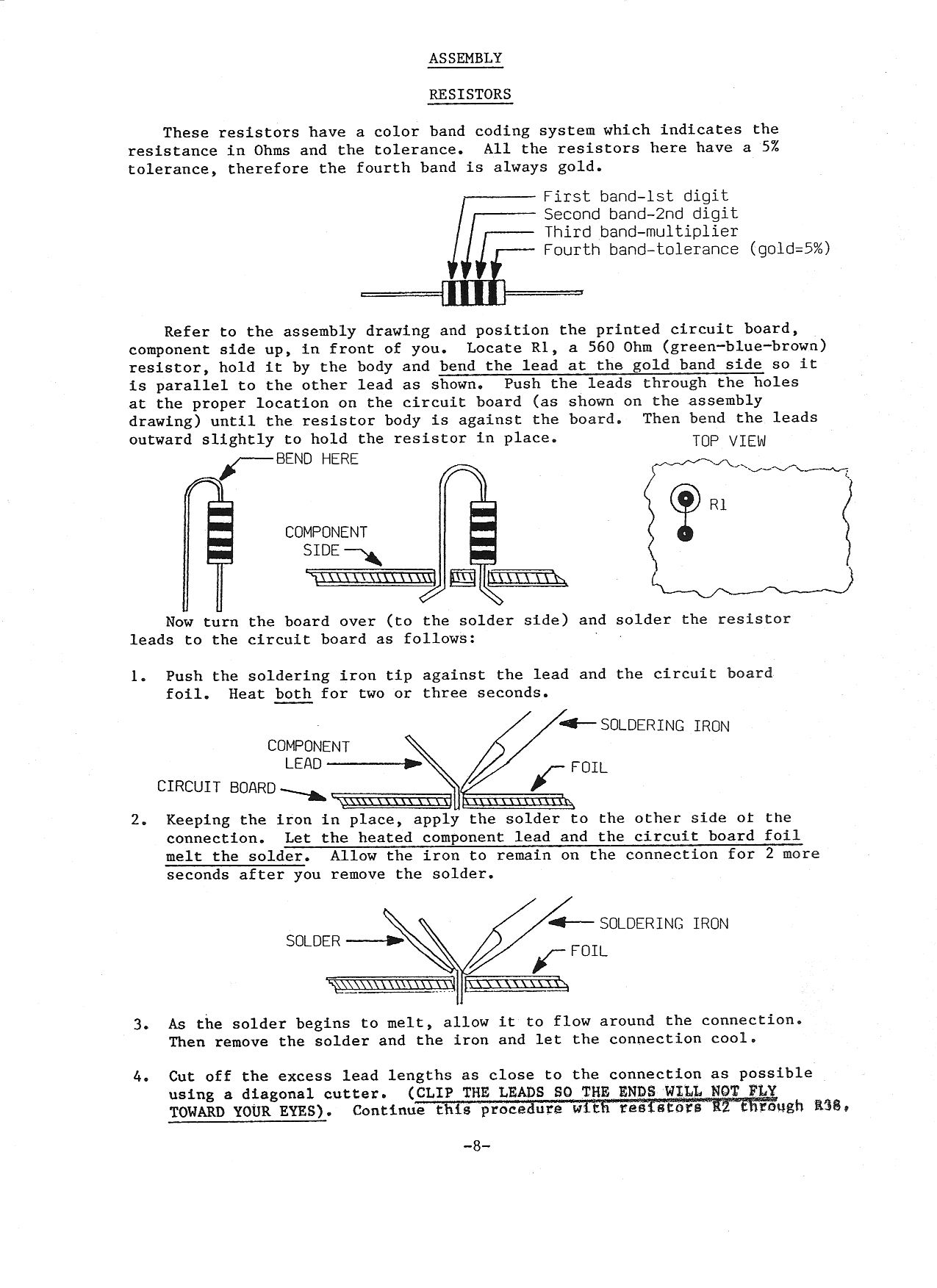 Construction Plans Page 8